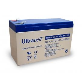 Akumulator ołowiowy 12 V, 7,2 Ah (UL7.2-12)