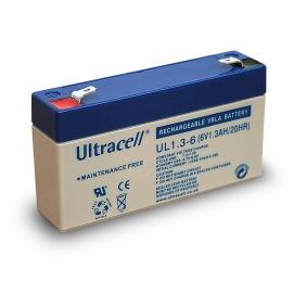 Akumulator ołowiowy 6 V, 1,3 Ah (UL1.3-6)