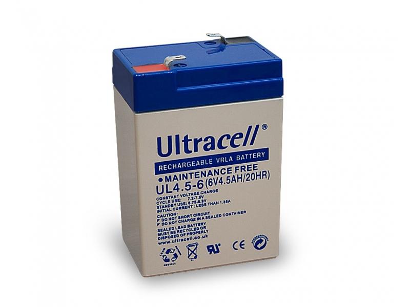 Akumulator ołowiowy 6 V, 4,5 Ah (UL4.5-6)