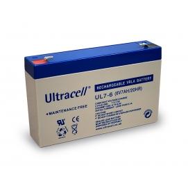 Akumulator ołowiowy 6 V, 7 Ah (UL7-6)
