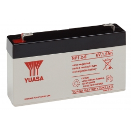 Akumulator żelowy AGM YUASA (NP1.2-6) 6V 1,2Ah