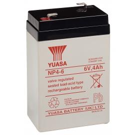 Akumulator żelowy AGM YUASA (NP4-6) 6V 4Ah