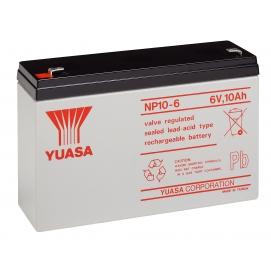 Akumulator żelowy AGM YUASA (NP10-6) 6V 10Ah