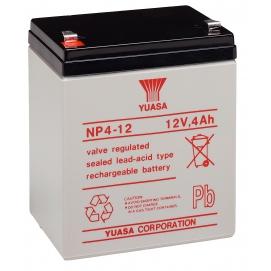 Akumulator żelowy AGM YUASA (NP4-12) 12V 4Ah