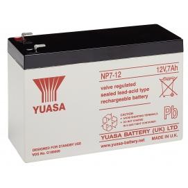 Akumulator żelowy AGM YUASA (NP7-12) 12V 7Ah