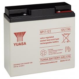 Akumulator żelowy AGM YUASA (NP17-12) 12V 17Ah
