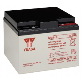 Akumulator żelowy AGM YUASA (NP24-12) 12V 24Ah