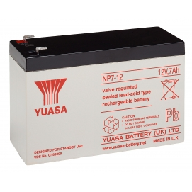 Akumulator żelowy AGM YUASA (NP7-12L) 12V 7Ah