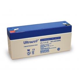 Akumulator ołowiowy 6 V, 3,4 Ah (UL3.4-6)
