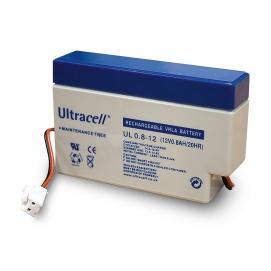 Akumulator ołowiowy 12 V, 0,8 Ah (UL0.8-12)