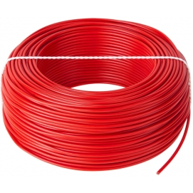 Przewód LgY 1x1 H05V-K czerwony 100m