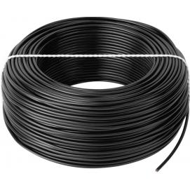 Przewód LgY 1x0,5 H05V-K czarny 100m