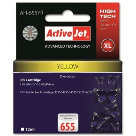 Tusz ActiveJet do HP 655 yellow