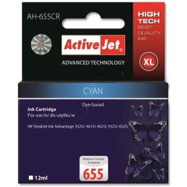 Tusz ActiveJet do HP 655 cyan