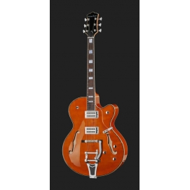 Gitara elektryczna model jazz Harley Benton BigTone Vintage Orange