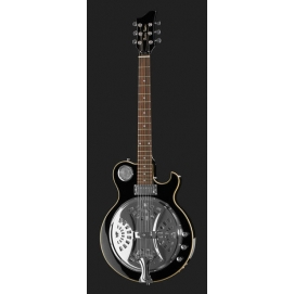 Gitara elektryczna Harley Benton Custom Line ResoKing BK