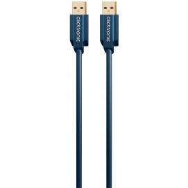 Kabel USB 3.0 A / A 0,5m Clicktronic