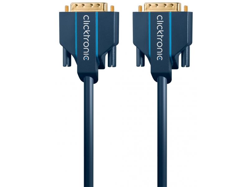 Kabel DVI-D / DVI-D 5m Clicktronic