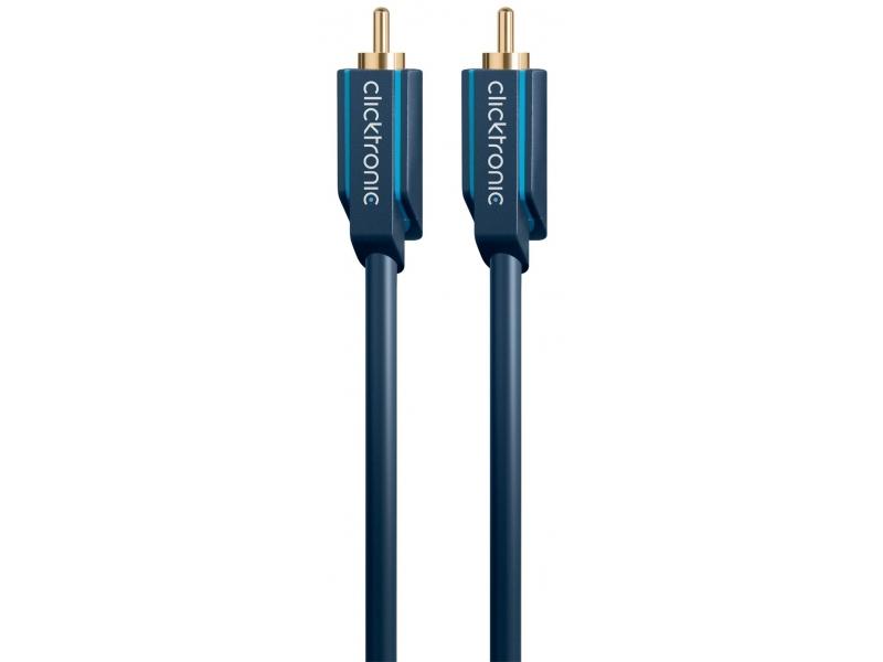 Kabel audio RCA / RCA 5m Clicktronic