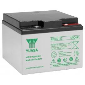 Akumulator żelowy AGM YUASA (NPL24-12) 12V 24Ah