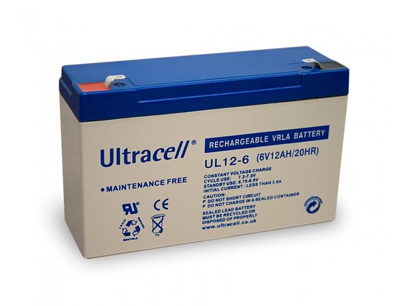 Akumulator ołowiowy 6 V, 12 Ah (UL12-6)