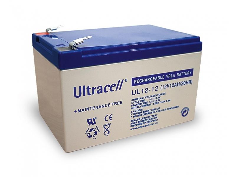 Akumulator ołowiowy 12 V, 12 Ah (UL12-12)