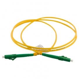 Patch Cord światłowodowy LC APC-LC SX SM 1m
