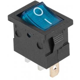 Przełącznik podświetlany MK1011 12V niebieski