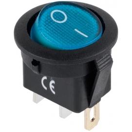 Złącze przełącznik IRS-101-8C/D niebieski 12V