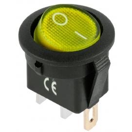 Złącze przełącznik IRS-101-8C/D żółty 12
