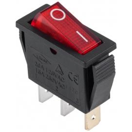 Złącze przełącznik IRS-101-1A czerwony