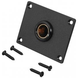 Gniazdo standardowe DIN do wbudowania, z płytką montażową