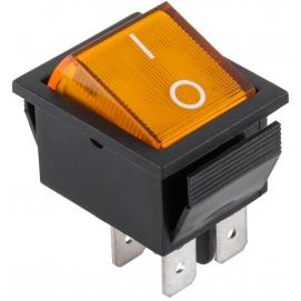 Złącze przełącznik IRS-201-1A żółty