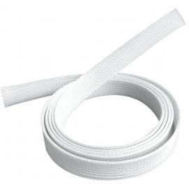 Peszel poliestrowy biały na kable A/V 1m/40mm