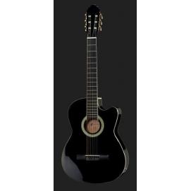 Gitara elektroklasyczna Harley Benton CG200CE-BKz