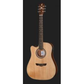 Gitara akustyczna Harley Benton CLD-1048SCE-LH
