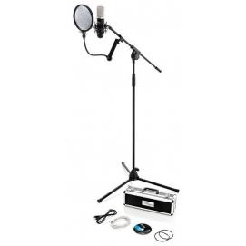 Profesjonalny mikrofon pojemnościowy the t.bone SC450 USB + zestaw