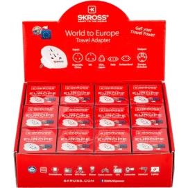Opakowanie zbiorcze sprzedażowe adaptery podróżne Country świat Europa