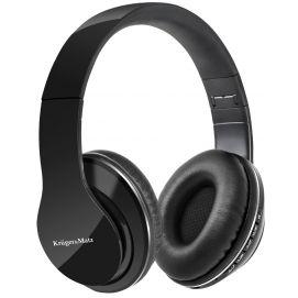 Bezprzewodowe słuchawki nauszne Kruger&Matz model Street BT, kolor czarny