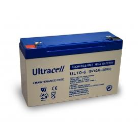 Akumulator ołowiowy 6 V, 10 Ah (UL10-6)