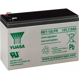 Akumulator żelowy AGM YUASA (RE7-12L) 12V 7Ah