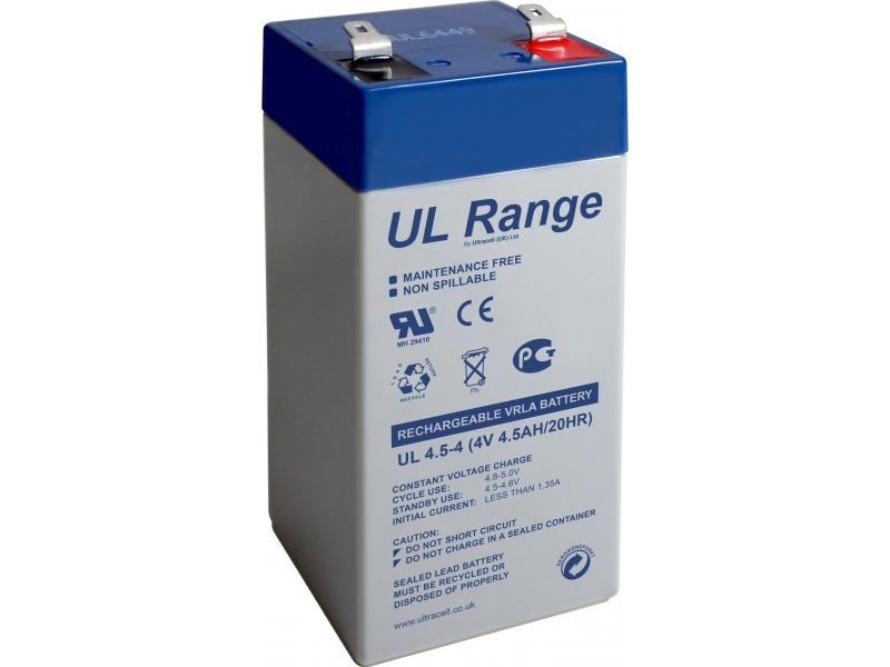 Akumulator ołowiowy 4 V, 4,5 Ah (UL4.5-4)