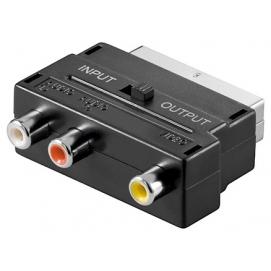 Adapter Scart/Cinch (RCA)