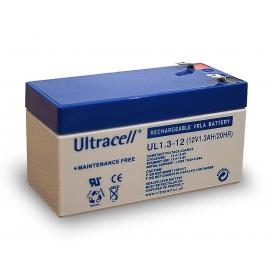 Akumulator ołowiowy 12 V, 1,3 Ah (UL1.3-12)