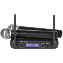 Mikrofon VHF 2 kanały WR-358LD (2 x mikrofon do ręki)