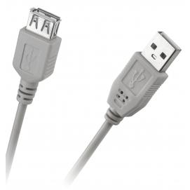 Kabel USB typu A wtyk-gniazdo 1,5m