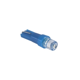 Żarówka samochodowa 12V T5-WG niebieska