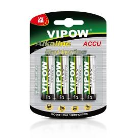 Baterie alkaliczne VIPOW LR6 4szt/bl.