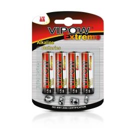 Baterie alkaliczne VIPOW EXTREME LR06 4szt./bl.