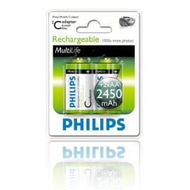 Bateria Philips R14 Ni-Mh 2450 mAh -2szt